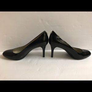MICHAEL KORS Black Patent Leather Heel Pump Shoes
